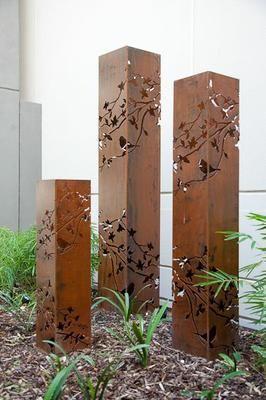 Diseño en acero corten